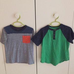 3/$18 Sale! Boys shirt bundle